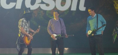 Bill Gates & Slash - CES 2008
